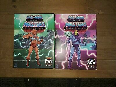 $10 • Buy He-Man And The Masters Of The Universe DVD Vol 1 & 2