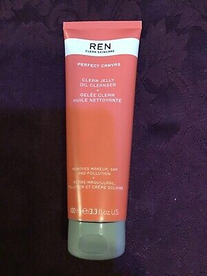Ren Perfect Canvas Clean Jelly Oil Cleanser 100ml. Brand New . • 9£