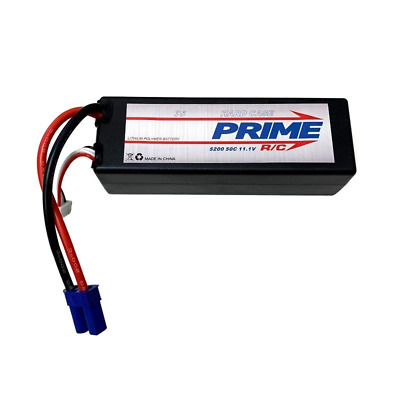 AU109.99 • Buy Prime RC 5200mAh 3S 11.1v 50C Hard Case LiPo Battery With EC5 Connector