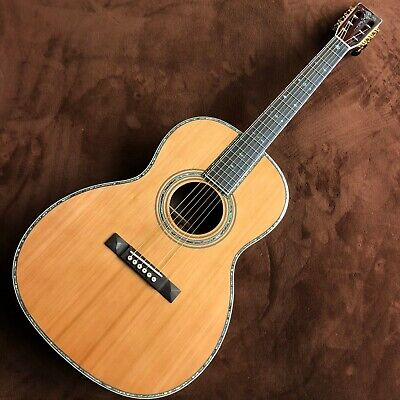$435 • Buy 000 Mold Black Finger Abalone Shell Inlay To Play Folk Acoustic Guitar