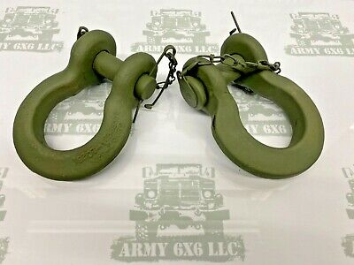 $40 • Buy M939 M35a2 M809 Pair Of Shackle Clevis Straight Style With Pin M923 M923a2 M35a3