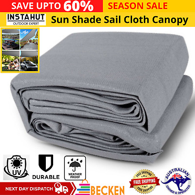 AU134.52 • Buy Instahut Sun Shade Sail Cloth Shadecloth Outdoor Canopy Square  280gsm 6x6m