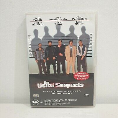 AU9.99 • Buy THE USUAL SUSPECTS DVD Kevin Spacey Gabriel Byrne R4 PAL