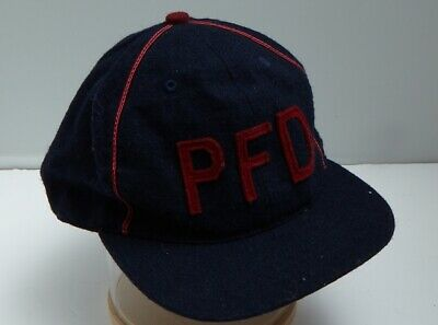 Penfield Baseball Cap Vintage Blue Red Brushed Cotton • 3.25£