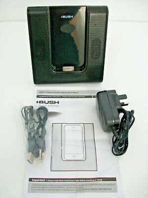 Bush  Compact Speaker Dock For IPod/iPhone • 12£