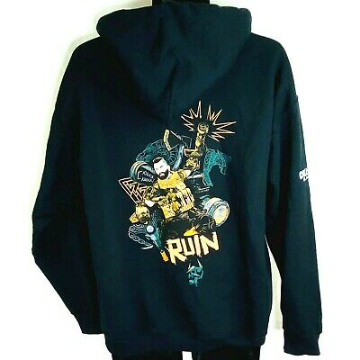 £28.32 • Buy Call Of Duty Black Ops Donnie Ruin Walsh Pullover Hoodie Promo LTD Release Sz LG