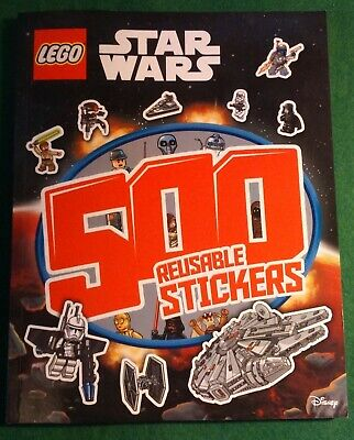 LEGO STAR WARS 500 Reusable Stickers By Edgemont **NEW** • 1.50£