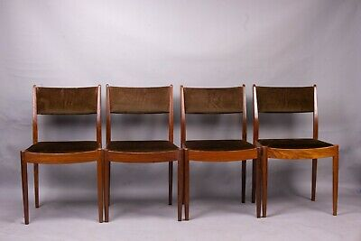 AU891.35 • Buy Mid-century G-Plan Afromosia Dining Chairs Set Of 4 Retro Vintage 1960s 70s