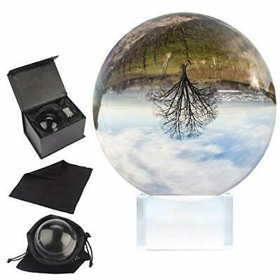 K9 Crystal Ball 100mm - 10cm Photography Ball With Crystal Stand, • 33.99£