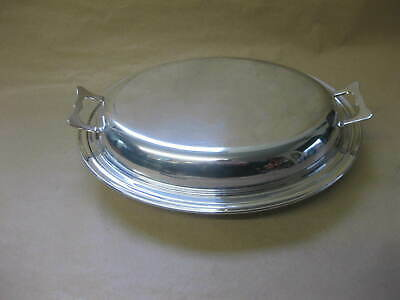 £10.99 • Buy Vintage / Antique Silver Plated Entree Dish / Lidded Serving Dish ~ England