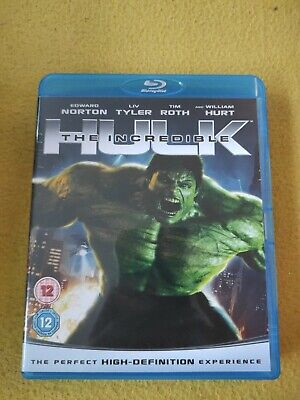 The Incredible Hulk Blu-ray. Edward Norton. Excellent Condition. Free Postage.  • 6£