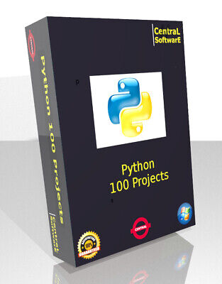 £5.99 • Buy Python Programming Crash Course Learn 100 Day 6 DVD Training Book Video Projects