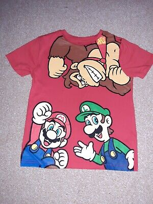 Boys Age 6-7 Years Nintendo Mario Kart Red Tshirt *immaculate Condition* • 4.95£