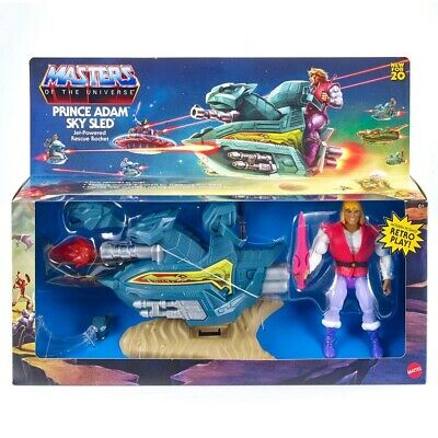 $39.95 • Buy Masters Of The Universe Origins: Sky Sled & Prince Adam MOTU