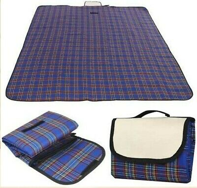 Extra Large Waterproof Picnic Blanket Outdoor Camping Summer Beach Travel Pet • 8.99£