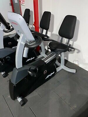 £575 • Buy Life Fitness Smart Series Recumbent Bike With Track Console