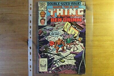 Marvel Comics Double-Sized Issue THING/BEN GRIMM Vol.1 No.100 June 1983 • 0.99£