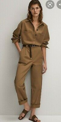 AU50 • Buy Massimo Dutti Khaki Playsuit RrpAU$165  NEW WITH TAGS!