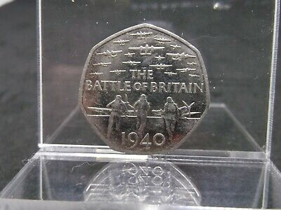 2015 50p Coin The Battle Of Britain 5th Portrait Rare Fifty Pence  • 4.99£