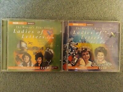 Woman's Hour Serial Ladies Of Letters .com & Log On Audiobook CD BBC Radio 4  • 14£