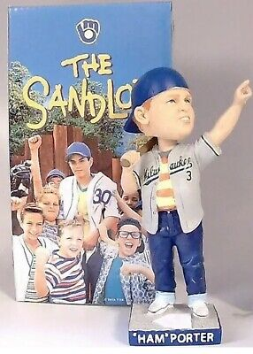 "$ CDN38.06 • Buy Milwaukee Brewers ""Ham"" Porter Sandlot Bobblehead. SGA Bobblehead"