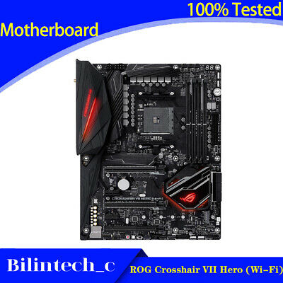 AU373.60 • Buy FOR ASUS ROG Crosshair VII Hero (Wi-Fi) Motherboard Supports X470 AMD AM4 64GB
