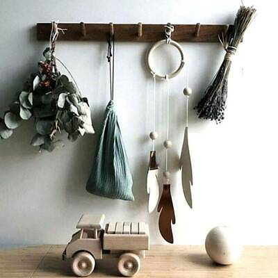 Feather Bedroom Wind Chimes Weave Multifunction Hanging Accessories Dreamcatcher • 2.53£