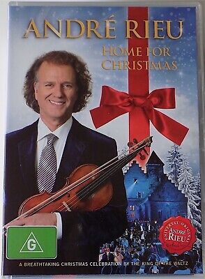 £5.36 • Buy ANDRE RIEU - Home For Christmas DVD 2012 AS NEW!