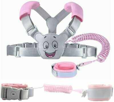 Baby Reins Walking Harness For Toddlers, Kids, Children, 3-in-1, Anti Lost Wrist • 18.09£