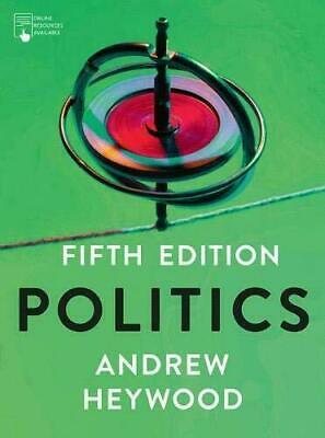 £23.98 • Buy Politics, Paperback By Heywood, Andrew, Brand New, Free P&P In The UK