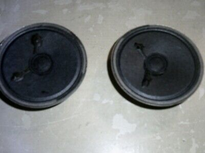 AU7.47 • Buy Pair 2 Inch 5 Cm 8 Ohm 0.2 W Headphone Speakers (Japan)