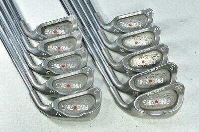 AU325.48 • Buy Ping Zing 2-W,SW Iron Set Right JZ Stiff Flex Steel # 112986