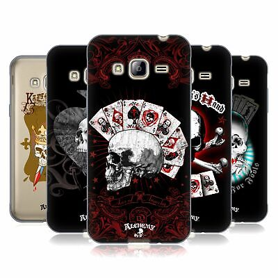 £14.95 • Buy Official Alchemy Gothic Skull And Cards Soft Gel Case For Samsung Phones 3