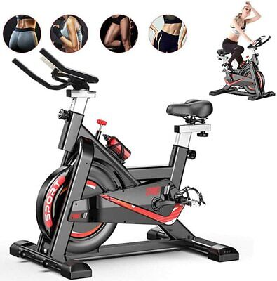 Spin Exercise Bike Home Gym Bicycle Cycling Cardio Fitness Training Workout Bike • 219.99£