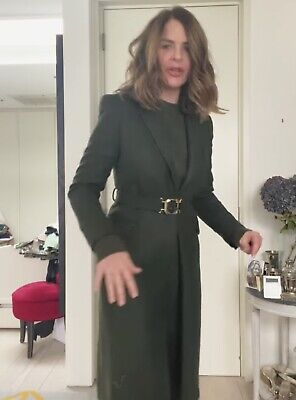 £79.99 • Buy Zara Aw2021 Limited Edition Belted Coat With Buckle Size Xl Bloggers Bnwt Trinny