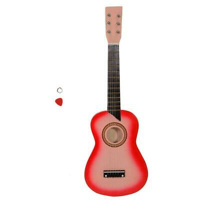 Kids 25  Inch Wooden Acoustic Guitar Musical Instrument Children Gift • 13.99£