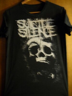 £11.33 • Buy Suicide Silence- Skull Lic OOP-Black T-Shirt- Small