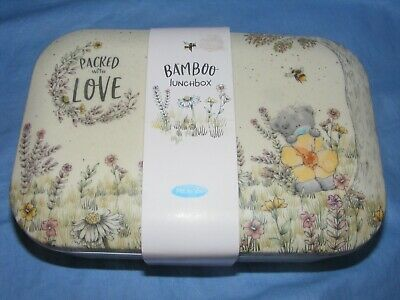£12.95 • Buy Bamboo Lunch Box Me To You Bear Tatty Teddy Birthday Present Gift NEW AGE01016