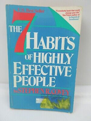 AU15.96 • Buy The 7 Habits Of Highly Effective People By Stephen Covey Paperback 8th Edition