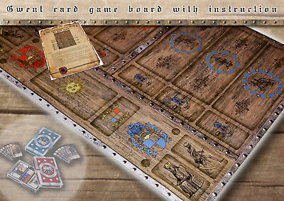 $ CDN31.74 • Buy CLEARANCE SALE! GWENT Card Game Suplement - Collector's Game Board - The Witcher