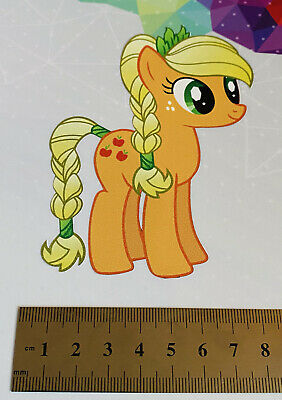Vinyl Printed Car Vehicle Sticker Graphic, Cute My Little Pony Apple Jack • 1.50£