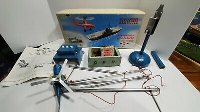 £118.85 • Buy Vintage 1950,s Nulli Secundus Remote Control Helicopter Set 3 Speed British Made