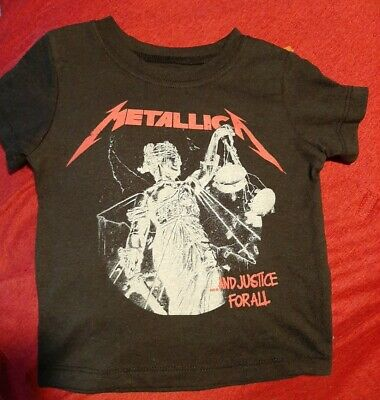 £25.46 • Buy New Metallica Justice For All Shirt Sz 12 Months