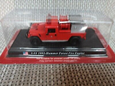 £3.70 • Buy Del Prado Fire Engines 1:53 Scale 1992 Hummer Forest Fire Engine - Sealed