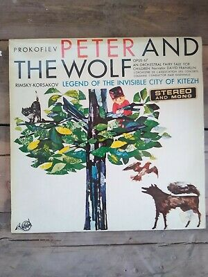 £9.99 • Buy Prokofiev Peter And The Wolf LP FDY 2069