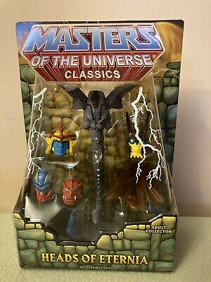 $82 • Buy Masters Of The Universe Classics: 200X Lot - Queen Grayskull & Heads Of Eternia