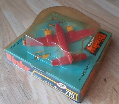 £35 • Buy Dinky Airplane/Aircraft Beechcraft C55 Baron #715 NM & Excellent Boxed