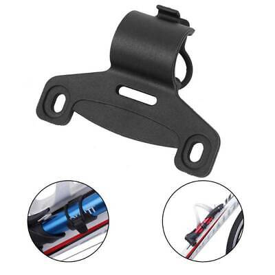 £1.82 • Buy Mount Bracket Bicycle Pump Holder Clip Durable Double Mouth Fix Bracket Y