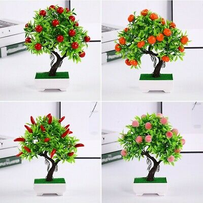 Home Artificial Plant Decoration Supplies Ornaments Fake Weddings Offices • 9.77£