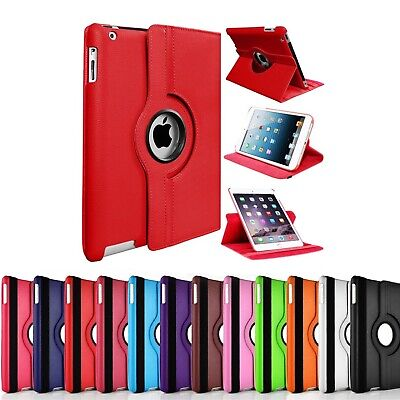 £4.97 • Buy 360 Rotating Case For Apple IPad 2 3 4 9.7  2019 2020 10.2  Leather Stand Cover